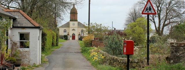 20 interesting church, Kirkbean, Ruth walking in Dumfries and Galloway