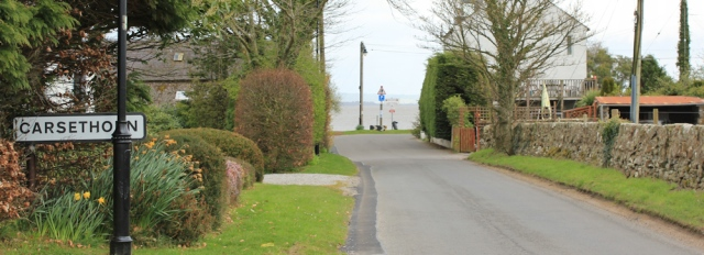23 Carsethorn, Ruth walking in Dumfries and Galloway
