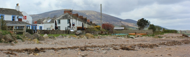25 Carsethorn and Criffel, Ruth walking in Dumfries and Galloway