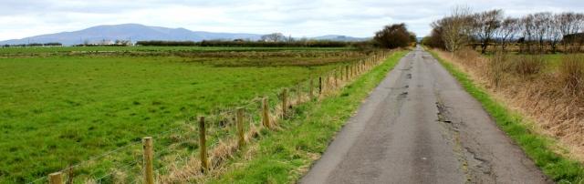 27 road walking to Ruthwell, Ruth's coastal walk, Dumfries and Galloway