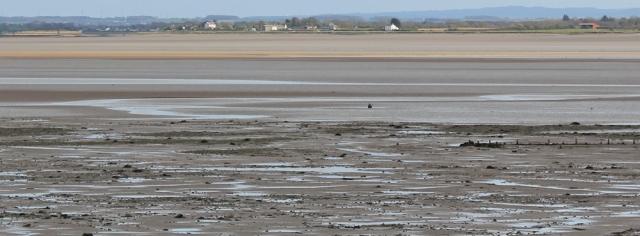28 looking over Solway Firth at Port Carlisle, Ruth's coastal walk, UK