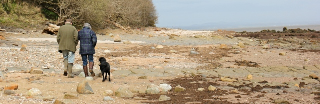 31 nice couple with dog, Ruth walking in Dumfries and Galloway