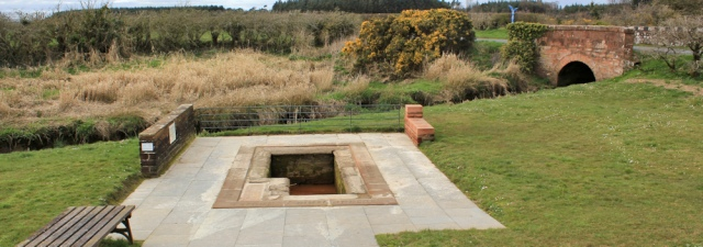 37 Brow Well, Robbie Burns, Ruth's coastal walk, Dumfries and Galloway