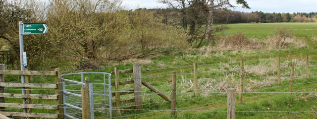 40 core path to Clarencefield, Ruth's coastal walk, Dumfries and Galloway