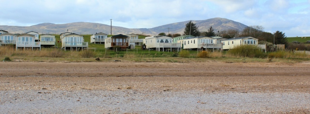 40 holiday park, Southerness, Ruth walking in Dumfries and Galloway