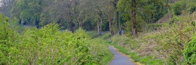02 cycle path to Wigtown Ruth's coastal walk, The Machars, Scotland