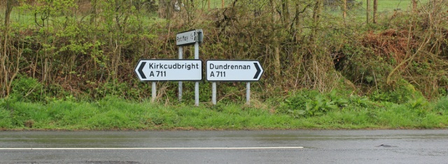 03 back on the A711 to Kirkcudbright, Ruth Livingstone