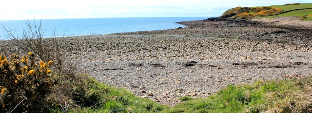 03 Burnfoot beach, Kirkcudbright range, Ruth's coastal walk Dumfries and Galloway