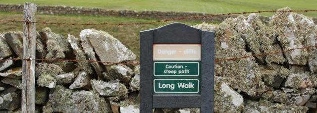 05 long walk, Brighouse Bay, Ruth walking the coast of Scotland to Gatehouse of Fleet