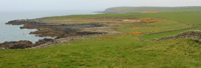 08 Harrison's Bay, Ruth walking the coast of Scotland to Gatehouse of Fleet