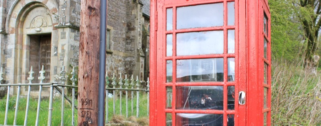 08 phone box in Dundrennan, Ruth Livingstone