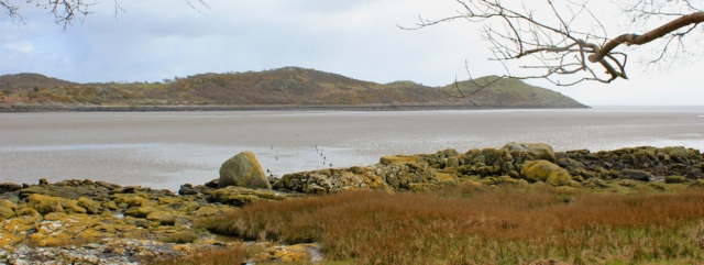 10 Almorness Point from Torr Point, Ruth's coast walk, Dumfries and Galloway