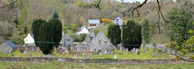 10 Anworth graveyard, Ruth hiking in Scotland, Gatehouse of Fleet