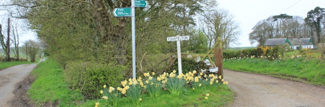 15 Chapelton, Ruth walking the coast of Scotland to Gatehouse of Fleet