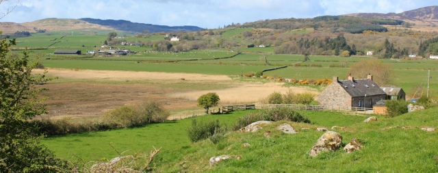 15 path to Duncraig, Ruth's coast walk, Dumfries and Galloway
