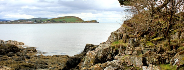 24 rocky point, Horse Isles, Ruth hiking in Dumfries and Galloway