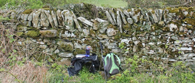 26 picnic spot, Knockbrex, Ruth Livingstone walking the coast