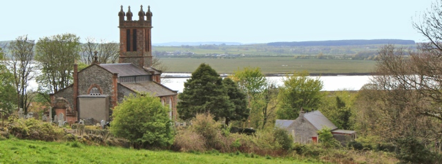 34 Creetown Church, Ruth's coastal walk, Scotland