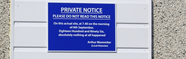 35 please do not read this notice, Ruth walking the coast of Scotland