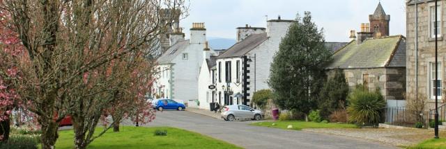39 Gatehouse of Fleet, Ruth walking the coast of Scotland