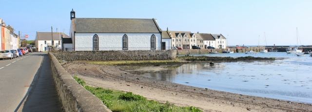 40 Isle of Whithorn, Ruth's coastal walk, Scotland