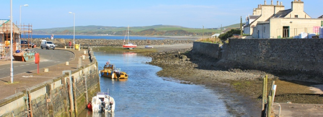 02 harbour, Port William, Ruth's coastal walk, Galloway, Scotland