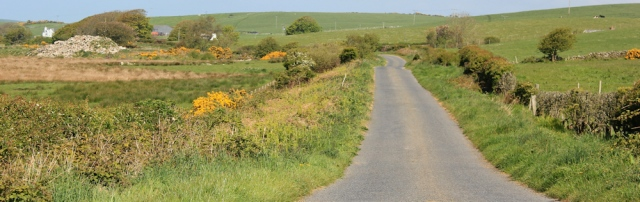 09 hiking to Portpatrick, Ruth Livingstone in Dumfries and Galloway