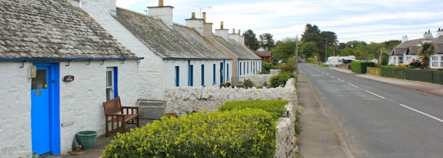 10 Ardwell village, Ruth trekking the Mull of Galloway Trail, Scotland