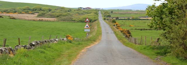 11 road to Ervie, Ruth's coastal walk, The Rhins, Galloway