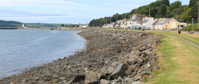 14 Cairnryan and Cairn Point, Ruth Livingstone walking the coast of Scotland