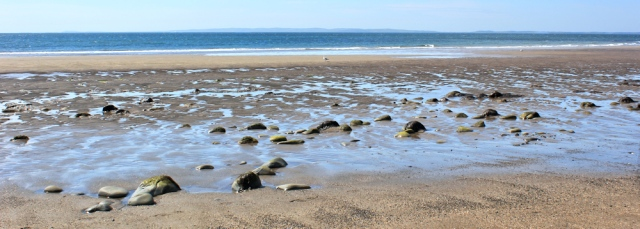 14 empty beach, Auchenmalg, Ruth's coastal walk, Galloway, Scotland