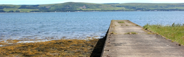 15 jetty, Ruth walking the coast to Stranraer, Scotland