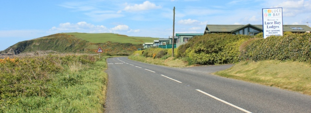 16 Auchenmalg caravan park and pub, Ruth's coastal walk, Galloway, Scotland