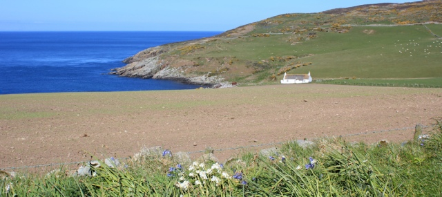 16 Bay House and Point of Cleugh, Ruth's coastal walk, The Rhins, Scotland