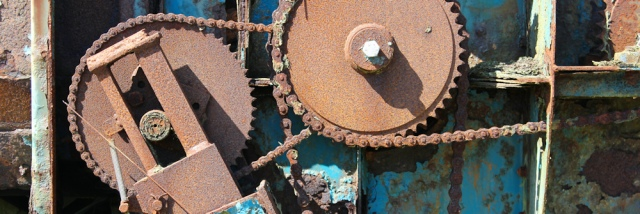 20 rusting machinery, Ruth's coastal walk, The Rhins, Scotland
