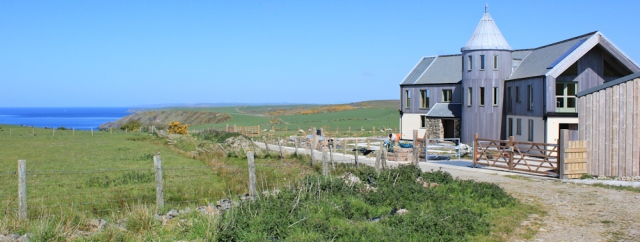 24 lovely house, Ruth's coastal walk, The Rhins, Scotland