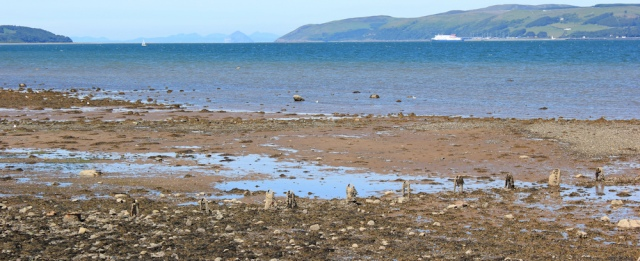 31 mouth of Loch Ryan, Ruth's coast walk to Stranraer, Scotland