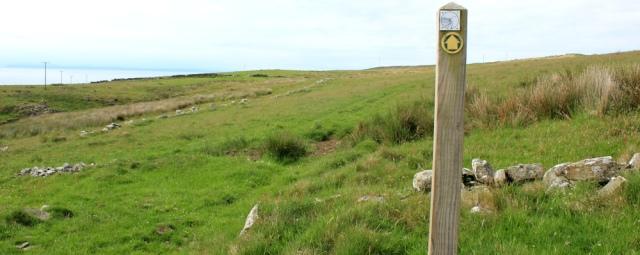31 Mull of Galloway Trail, Loch Ryan, Ruth Livingstone walking the Scottish Coast