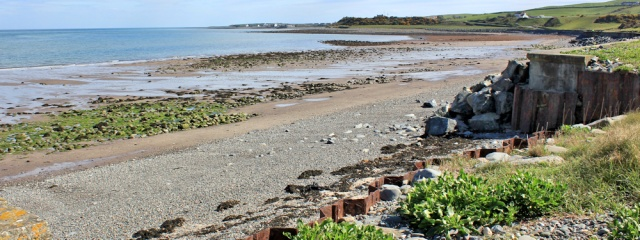 32 Kilstay Bay, Ruth Livingstone hiking to Drummore, The Rhins, Mull of Galloway