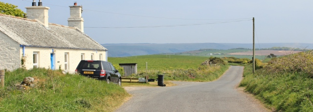 32 road to Kirkcolm, Ruth's coastal walk, The Rhins, Galloway
