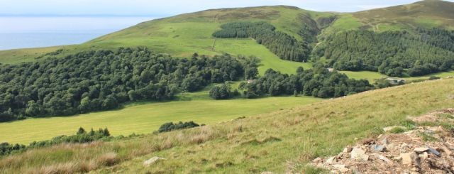 33 valley of the Water of App, Ruth's coastal trek, Ayreshire