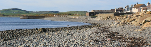 34 harbour wall, Port William, Ruth's coastal walk, Galloway, Scotland