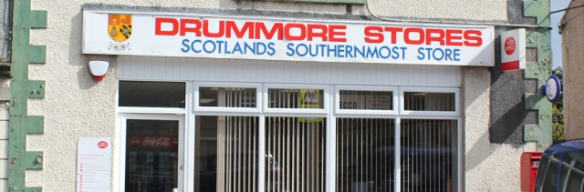 40 Drummore and Scotland's most southernmost store, Ruth Livingstone