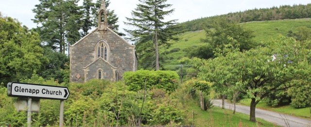 44 Glenapp Church, Ruth's coastal trek around the UK, Scotland