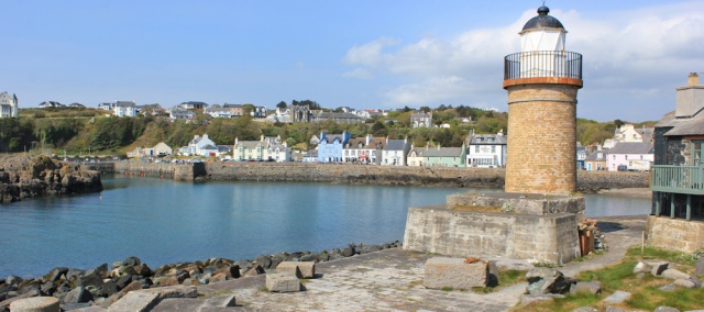 44 Portpatrick harbour, Ruth Livingstone hiking in Scotland