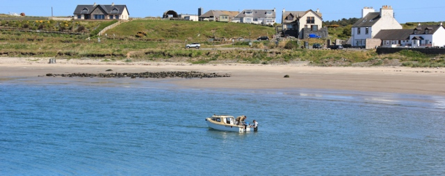 45 boat, Port Logan, Ruth's coastal walk, Galloway