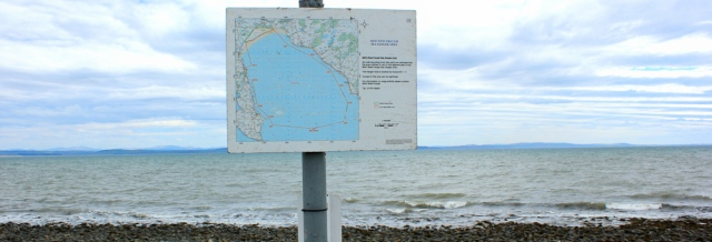 map, Luce Bay, Ruth Livingstone