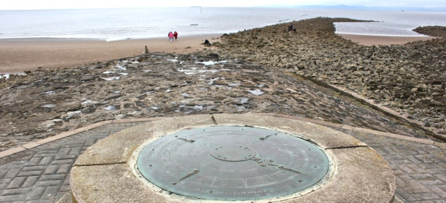 13 distance compass, Irvine Beach, Ruth Livingstone