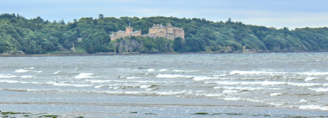 15 Culzean Castle from Culzean Bay, Ruth livingstone