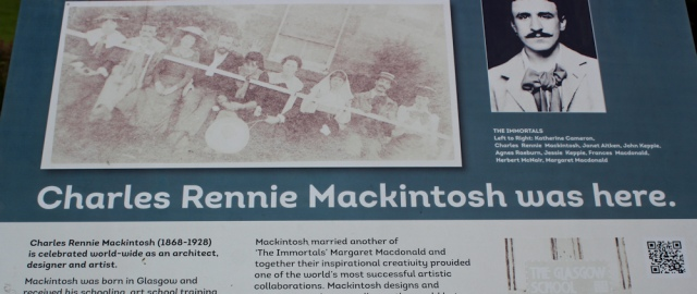 22 Rennie Mackintosh was here
